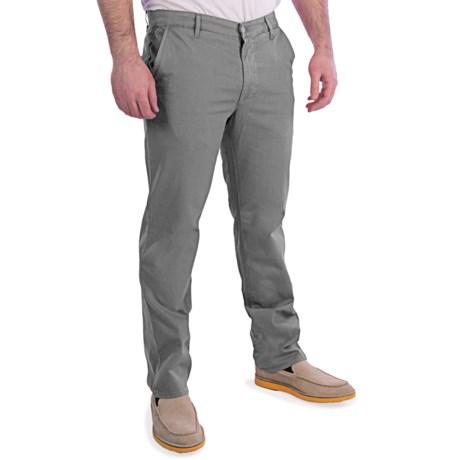 AG Jeans Cotton-Rich Khaki Pants (For Men)