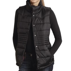 Roper Solid Vest - Quilted Nylon (For Women)