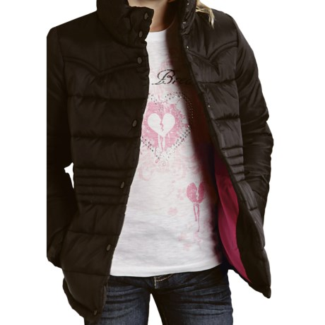 Roper Solid Jacket - Quilted Nylon (For Girls)