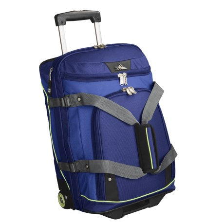 High Sierra Wheeled Duffel Bag - Drop-Bottom
