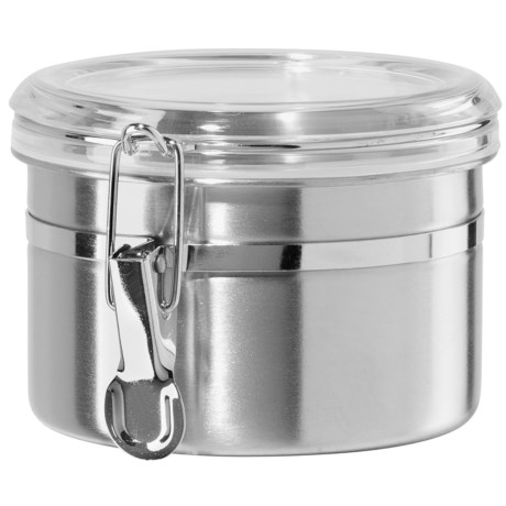 """OGGI Stainless Steel Canister - 5x3-5/8"""", 26 oz."""