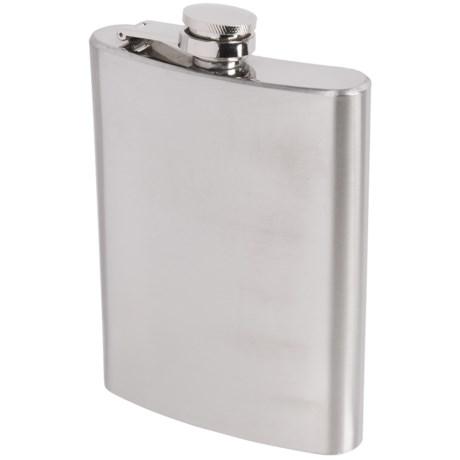 Oggi OGGI Stainless Steel Hip Flask and Funnel - 8 fl.oz.
