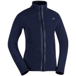 KJUS Sage Fleece Jacket - Mock Neck (For Women)
