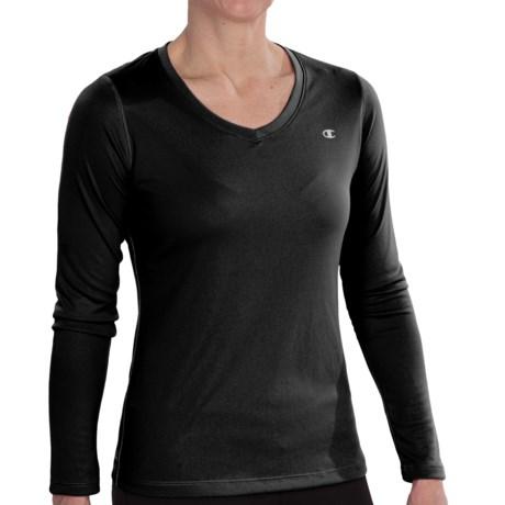 Specially made Powertrain Shirt - V-Neck, Long Sleeve (For Women)