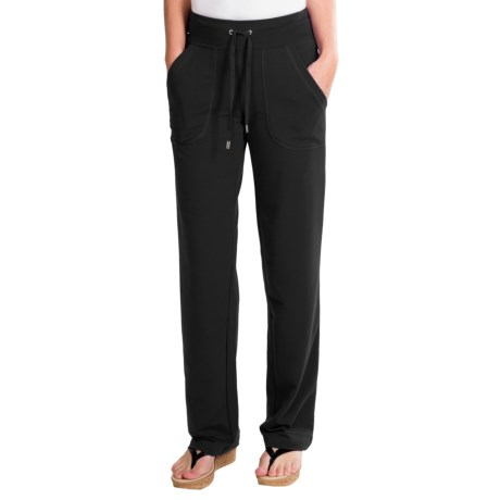 New York Laundry French Terry Pants - Drawstring Waist (For Women)