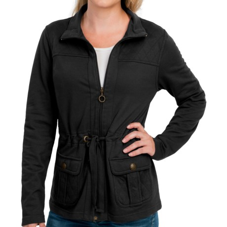 New York Laundry French Terry Jacket (For Women)
