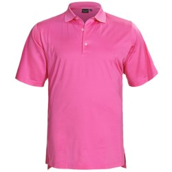 Fairway & Greene Signature Solid Lisle Polo Shirt - Mercerized Cotton, Short Sleeve (For Men)