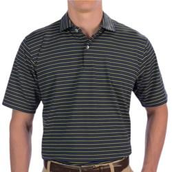 Fairway & Greene Tuck Stripe Tech Jersey Polo Shirt - Short Sleeve (For Men)