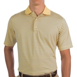 Fairway & Greene Stripe Tech Jersey Polo Shirt - Short Sleeve (For Men)