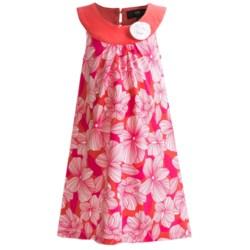 ABS Kids Print Knit Dress - Sleeveless (For Girls)