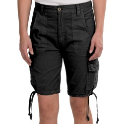 Stillwater Supply Co. Poplin Cargo Shorts (For Women)