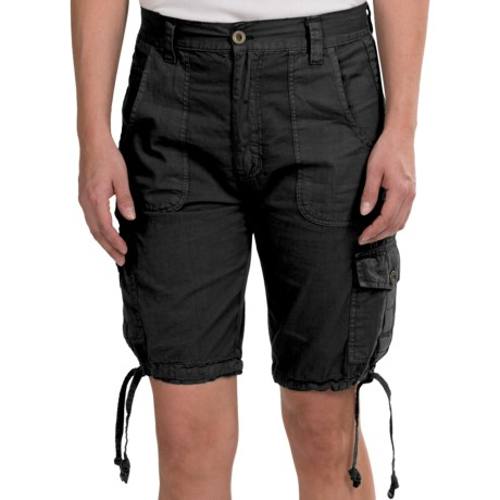 Stillwater Supply Co . Poplin Cargo Shorts (For Women)