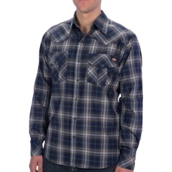 Dickies Western Plaid Shirt - Snap Front, Long Sleeve (For Young Men)