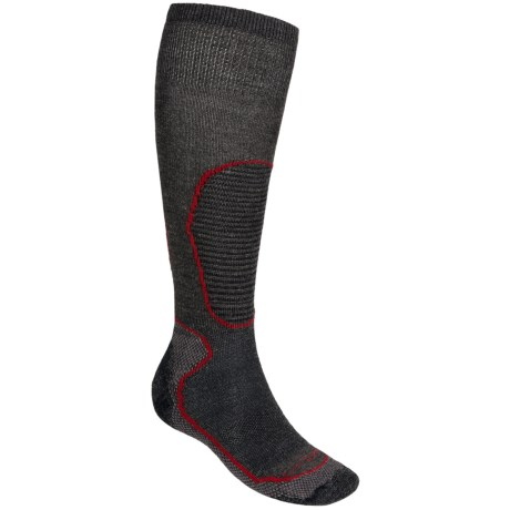 Lorpen Midweight Ski Socks - 2-Pack, Over-the-Calf (For Men)