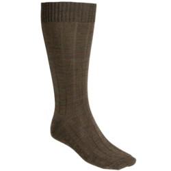 Woolrich Broad Rib Socks - Merino Wool, Mid-Calf (For Men)
