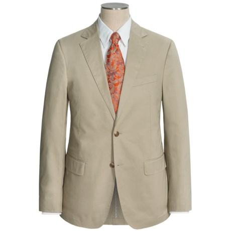 Flynt Solid Cotton Suit (For Men)