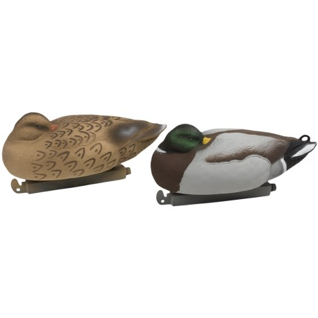 Tanglefree Pro Series Mallard Sleeper Floater Decoys - 4-Pack