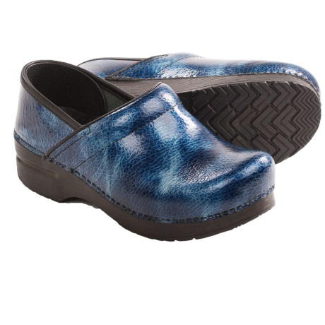 Dansko Professional Textured Clogs - Leather (For Women)