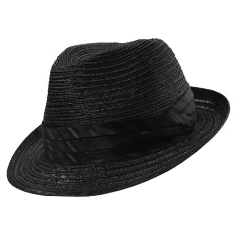 Frank Sinatra Trilby Fedora Hat - Hemp (For Men)
