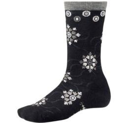 SmartWool Snow Swirl Socks - Merino Wool, Crew (For Women)