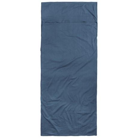Sea To Summit Sea to Summit Premium Cotton Travel Liner - Rectangular, Pillow Pocket