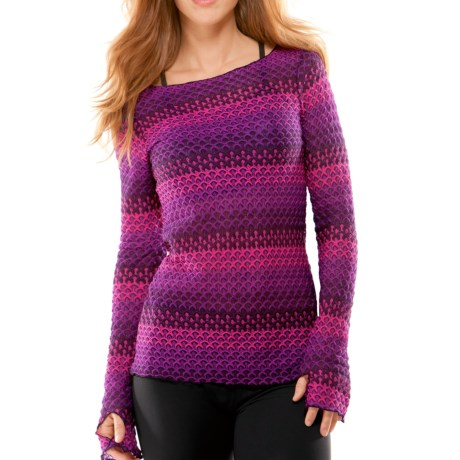 Moving Comfort Vibe Shirt - Long Sleeve (For Women)