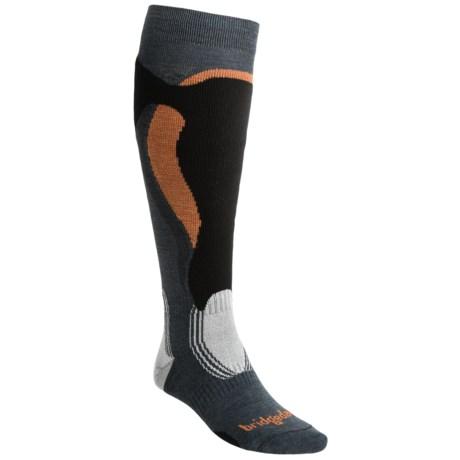 Bridgedale Control Fit Winter Sport Socks - Merino Wool, Over the Calf (For Men)