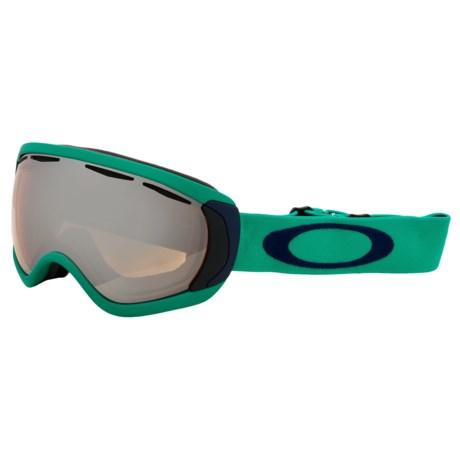 Oakley Canopy Snowsport Goggles - Iridium Lens