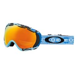 Oakley Canopy Signature Series Snowsport Goggles - Iridium® Lens