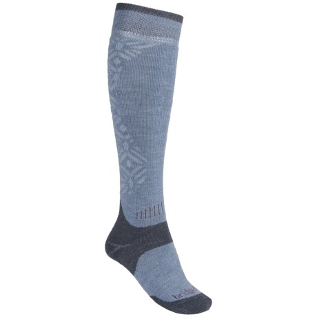 Bridgedale MerinoFusion All-Mountain Socks - Merino Wool, Over the Calf (For Women)