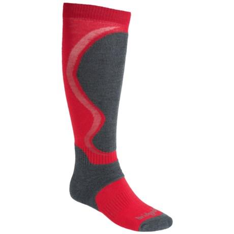 Bridgedale Heel Fit Ski Socks - Merino Wool, Over-the-Calf (For Men and Women)