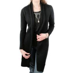 Ethyl Tuxedo-Front Long Sweater (For Women)