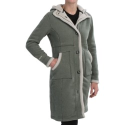 Hot Chillys Cabo Fleece Button Coat (For Women)