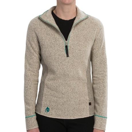 Hot Chillys Venito Fleece Jacket - Barrio Fleece, Zip Neck, Long Sleeve (For Women)