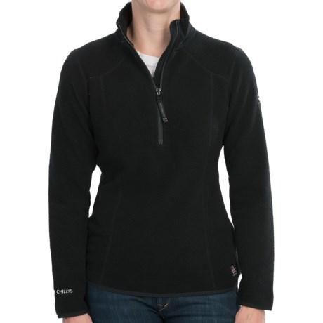 Hot Chillys Baja Fleece Pullover Jacket (For Women)