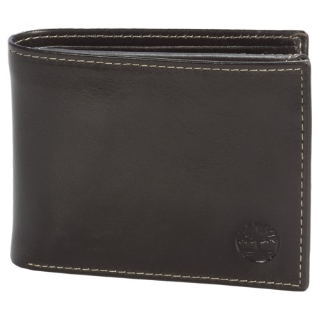 Timberland Passcase Wallet - Shiny Leather