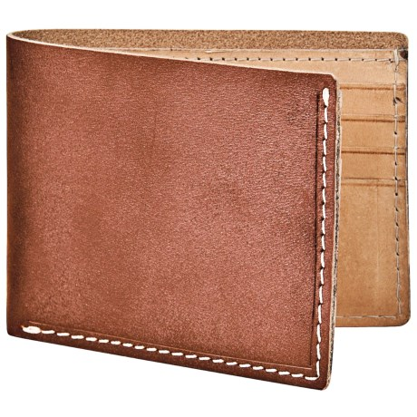 Marc New York by Andrew Marc Slimfold Wallet - Hand-Stained Leather