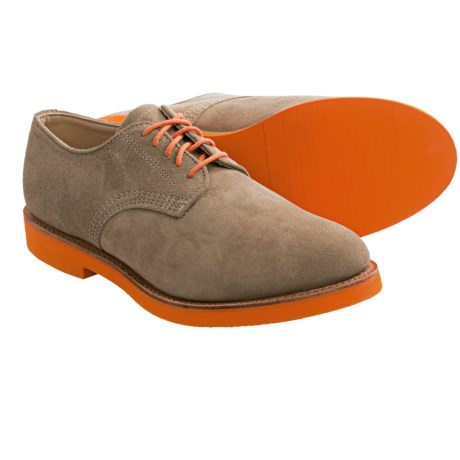 Walk-Over Derby 100 Suede Oxford Shoes (For Men)