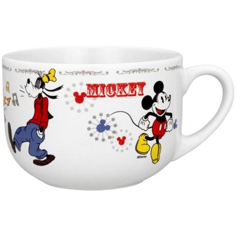 Disney Mickey & Friends Soup/Chili Mugs - 28 oz., Set of 4