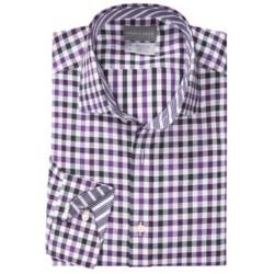 Thomas Dean Cotton Gingham Sport Shirt - Long Sleeve (For Men)