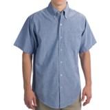 Easy-Care Oxford Shirt - Short Sleeve (For Men)