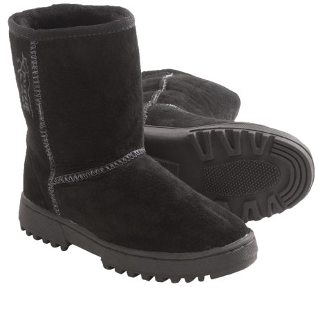 Aussie Dogs Rugged Boots - Sheepskin-Lined (For Kids)