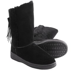 Aussie Dogs La Croix Boots - Sheepskin-Lined (For Women)