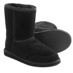 Aussie Dogs Coaster Short Boots - Shearling-Lined (For Women)