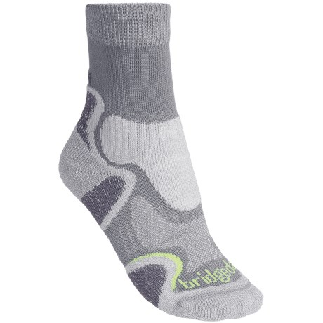 Bridgedale CoolFusion Light Hiker Socks - Merino Wool, Crew (For Women)