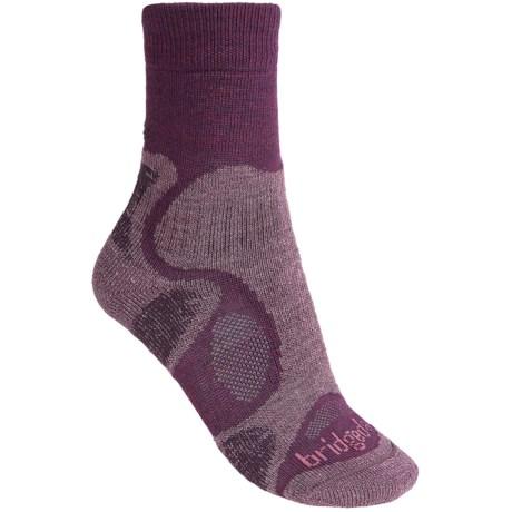 Bridgedale CoolFusion TrailBlaze Socks - Merino Wool, Crew (For Women)