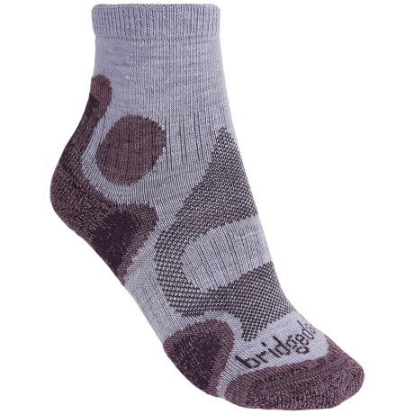 Bridgedale CoolFusion Trail Diva Socks - Merino Wool, Quarter Crew (For Women)