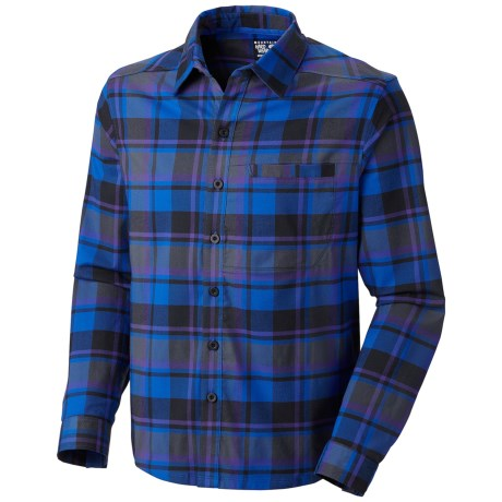Mountain Hardwear Stretchstone Flannel Shirt - UPF 50, Long Sleeve (For Men)