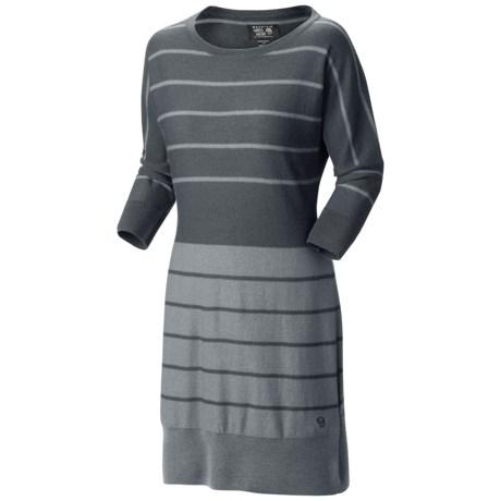Mountain Hardwear Merino Knit Sweater Dress - Merino Wool, 3/4 Sleeve (For Women)