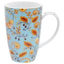 Dena Home Porcelain Coffee Mugs - Set of 4